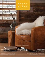 Altfield home uk british distributor high end luxury for Moore and giles furniture